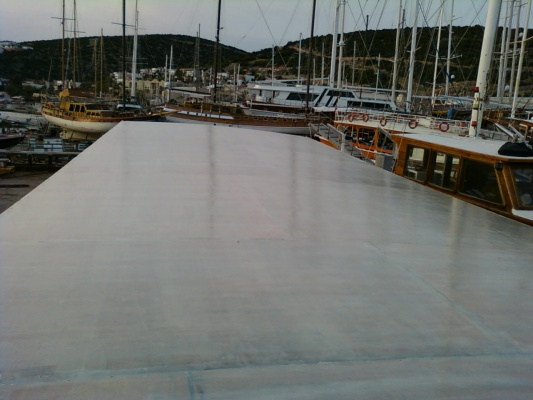 Ahşap Ve Polyester Tekne Yalıtımı